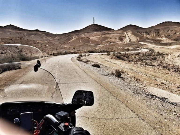 מסלול אופנועים בישראל - כביש 10 מסלול. צילום אושרה קמחי