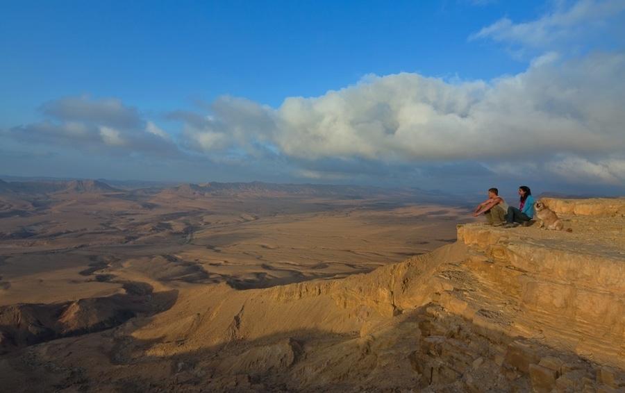 מכתש רמון - טרקים בנגב - סובב הר רמון. צילום דפנה טל