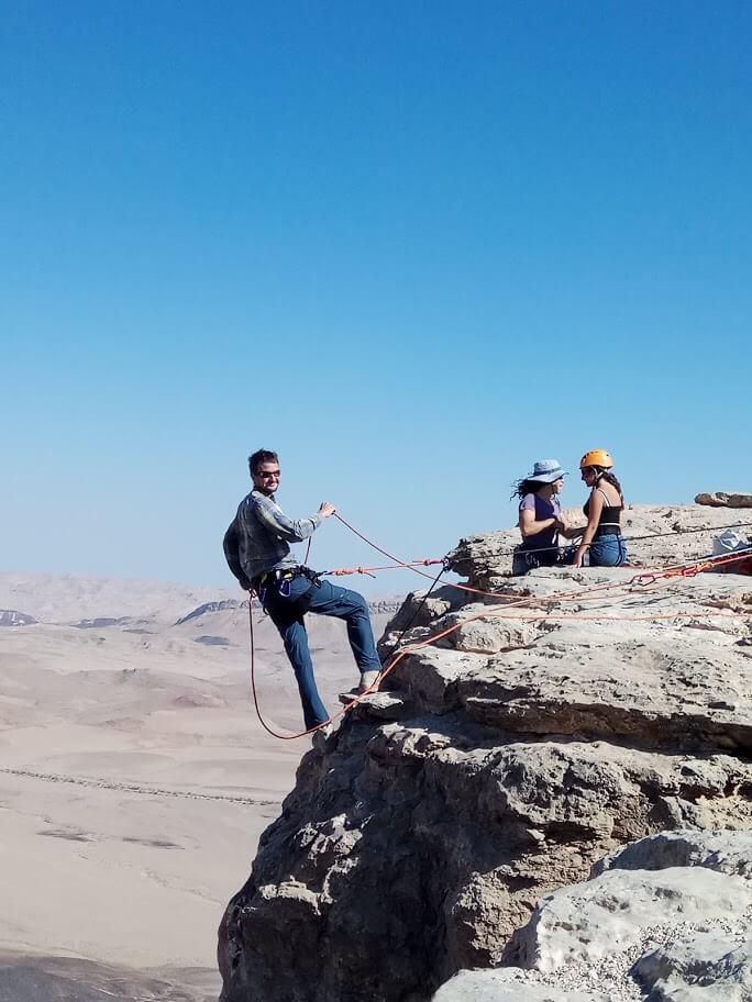 Desert Prime-פעילות-סנפלינג קרדיט טלי בריל
