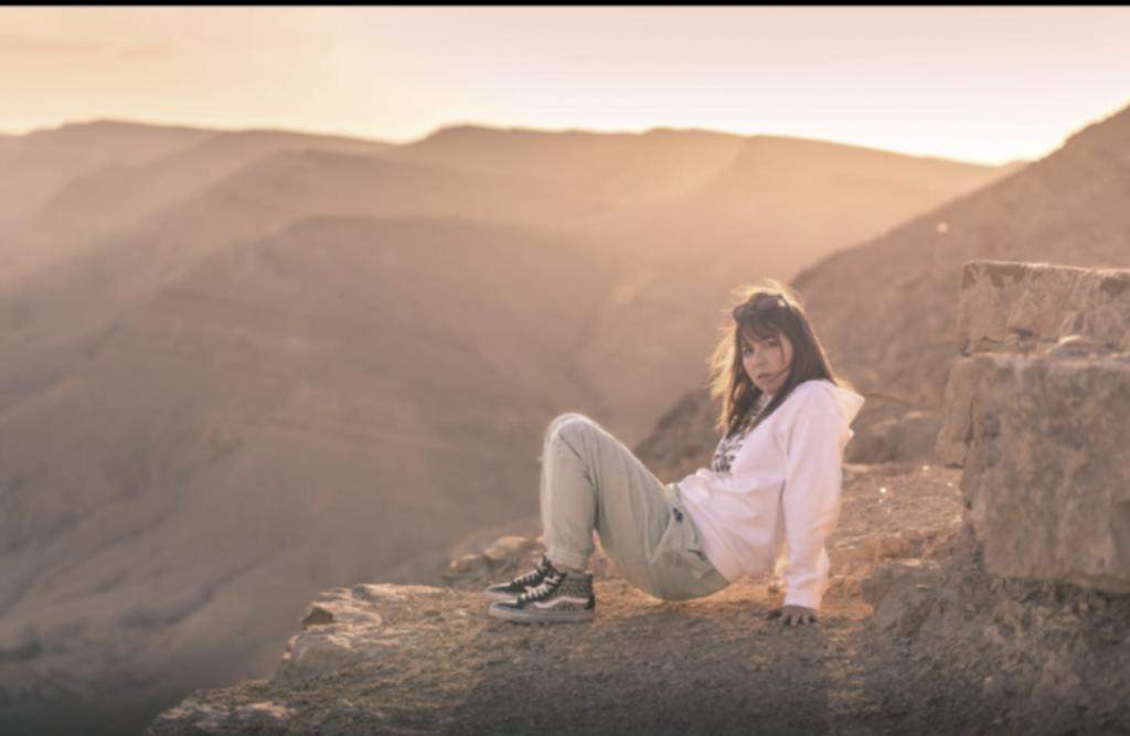שקיעה בהר אבנון. שילוב של נוף עוצר נשימה ותחושה של בריאת העולם. צילום ספיר אדלר
